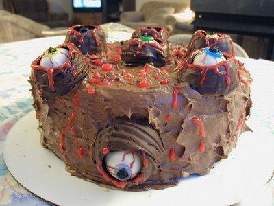 超驚悚萬聖節蛋糕!根本沒人敢吃下去吧... | 點我 ...