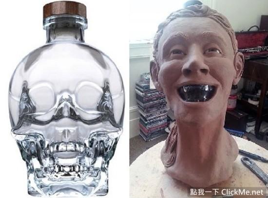 法醫超神技巧!將《水晶骷髏造型Vodka》面部還原,是在演CSI嗎? - 不可思议 - 谈天说地