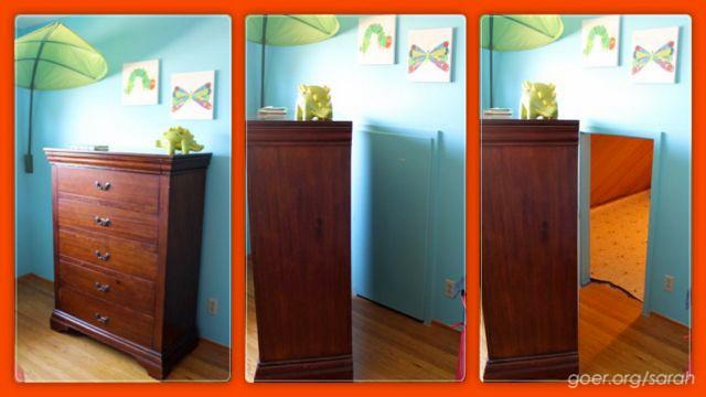 櫥櫃後面竟然還有一扇門!男孩最棒的生日禮物:專屬祕密基地
