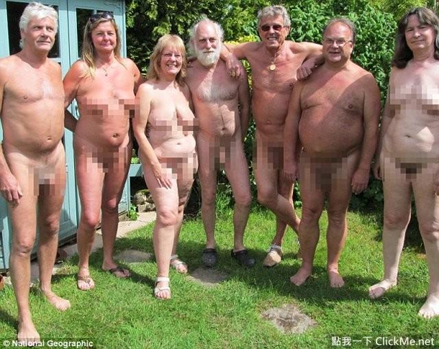 英国《神秘裸体村》照片流出,这是一个充满肉色的地方