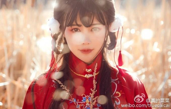 女神级中国coser《真的菜菜》