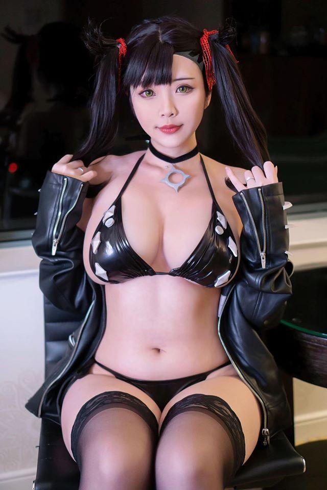 「西施惠」好有料!越裔正妹《Hana bunny》百萬人慕名來看巨大胸器!, 網路正妹美女分享