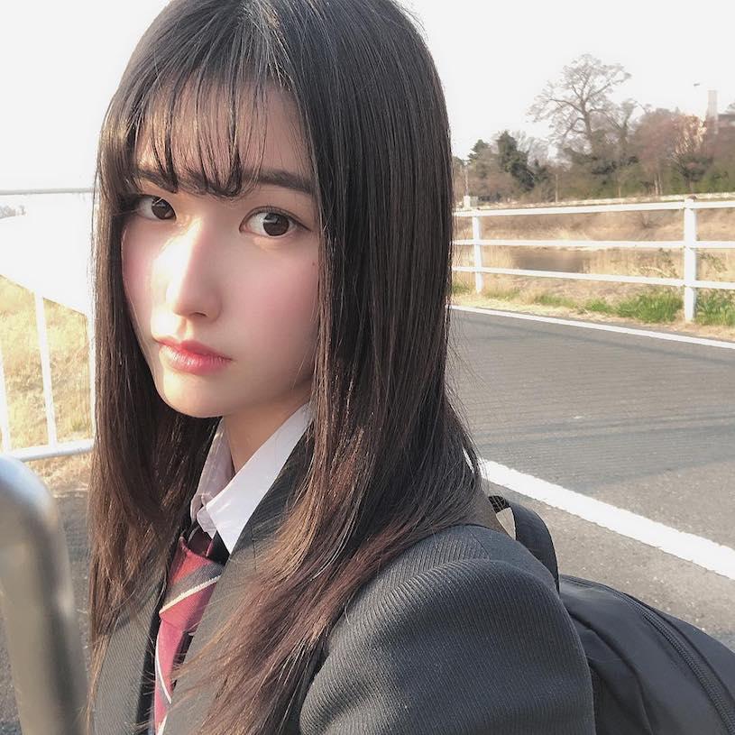 18岁被人称为『神颜』森嶋あんり的妹子能有多好看?插图2