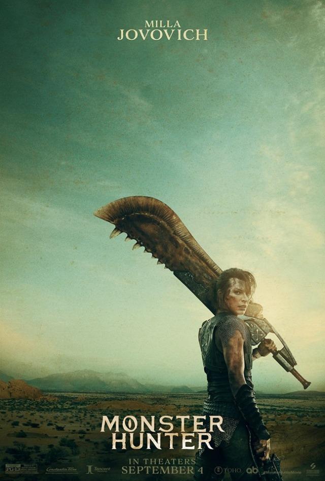 《魔物猎人真人版》预告登场!蜜拉乔娃维琪领军迎战魔物角龙!