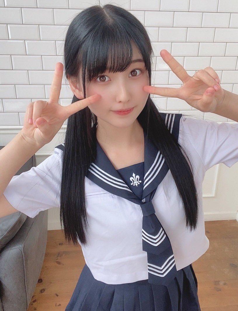 18岁被人称为『神颜』森嶋あんり的妹子能有多好看?插图5