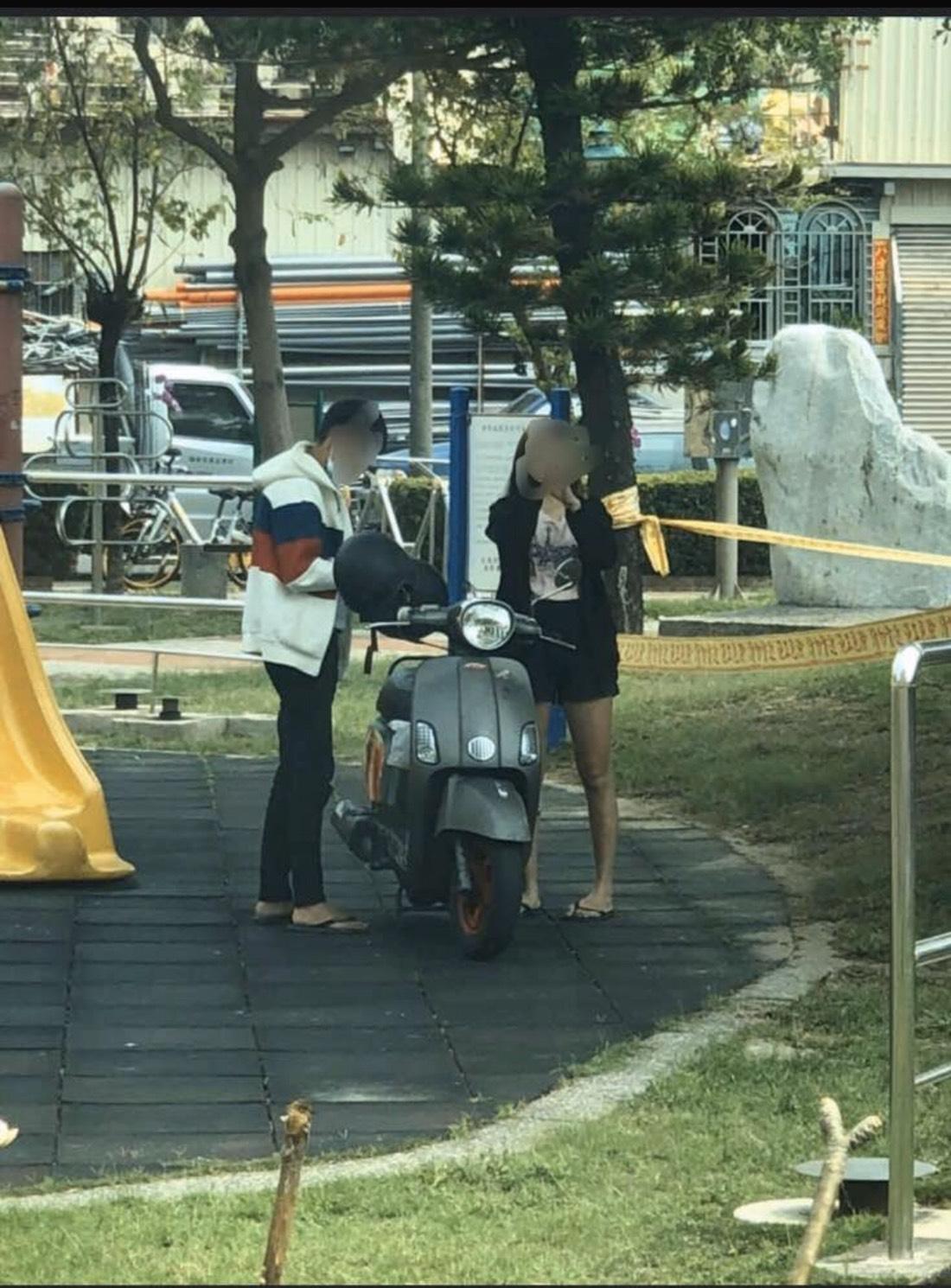 【影片】渔光岛2.0?台南巴洛公园「动动手运动」网:没有保持社交距离!