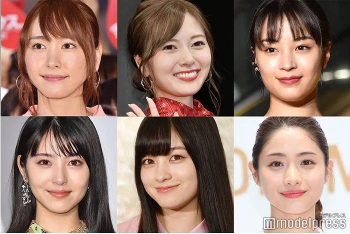 2021日网票选《女性最想要的20张脸蛋》!她们都比「千年一遇」还要美
